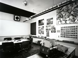 Charles and Ray Eames, Eames Office conference room, 1944-89; San Francisco Museum of Modern Art, Architecture and Design Forum Fund and Accessions Committee Fund purchase. Photo: Tom Bonner