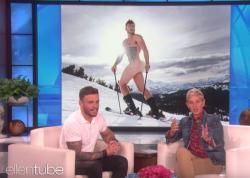 Gus Kenworthy speaks with Ellen DeGeneres