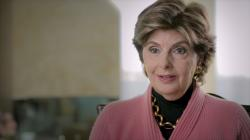 "Gloria Allred in a scene from the documentary ""Seeing Allred."""