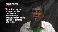 Rohingya Refugees Say Hunger Used As Weapon