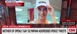 Watch: Olympic Skater Adam Rippon's Mother Responds to Pence Controversy