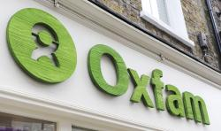 An Oxfam store in London.
