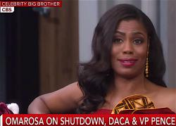 "Omarosa Manigault Newman on ""Celebrity Big Brother."""