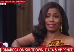 "Omarosa Manigault Newman on ""Celebrity Big Brother."""