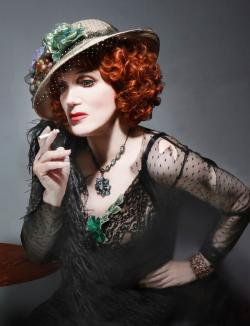 Charles Busch as Lily Dare.