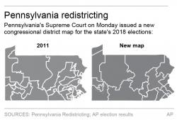 The court overturned the existing boundaries in a gerrymandering case.