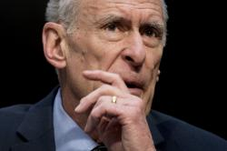 In this Feb. 13, 2018, file photo, Director of National Intelligence Dan Coats speaks at a Senate Select Committee on Intelligence hearing on worldwide threats in Washington