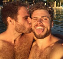Matthew Wilkas, left, and Gus Kenworthy