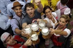 184th Oktoberfest beer festival in Munich, Germany.