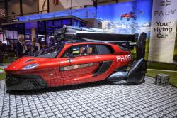 The New PAL-V Liberty a car that flies, a plane that drives is presented during the press day at the 88th Geneva International Motor Show in Geneva, Switzerland, Tuesday, March 6, 2018