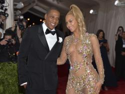 Jay-Z, left, and Beyonce