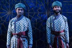 Jacob Athyal and Harsh J. Gagomal in 'Guards At the Taj.'