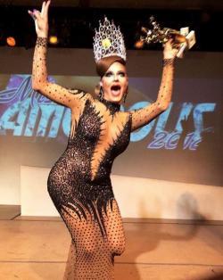 Drag performer Amanda D'Hod