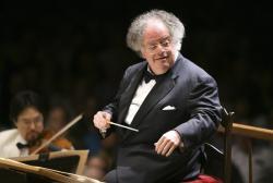 Boston Symphony Orchestra music director James Levine