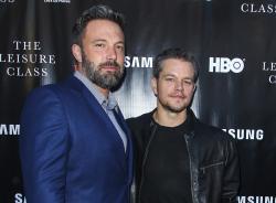 Ben Affleck, left, and Matt Damon