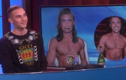 "Adam Rippon on ""The Ellen Show."""