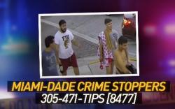 Four suspected men allegedly involved in an attack after a gay pride event in Miami Beach.