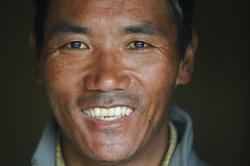 Nepalese veteran Sherpa guide, Kami Rita.