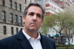 This April 11, 2018 file photo shows attorney Michael Cohen in New York.