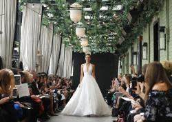 The Amsale collection, Bridal Fashion Week.