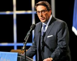 In this Oct. 23, 2015, file photo, Jay Sekulow speaks at Regent University in Virginia Beach, Va.