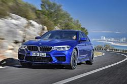 This undated photo provided by BMW shows the 2018 BMW M5, one of the cars that BMW is making available in the $3,700-per-month tier of its Access by BMW car subscription service