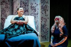 Kiki Samko and Lizette M. Morris in the world premiere of Katie Bender's 'still, now'