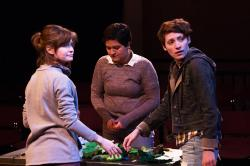 Alex Casillas, Emily Elmore, and Laura Baronet Chowenhill in 'Heritage Hill Naturals'