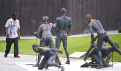 National Memorial for Peace and Justice in Montgomery, Alabama..