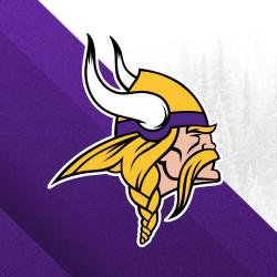 The logo for the Minnesota Vikings