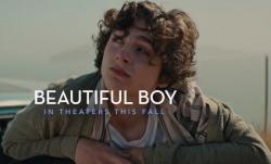 "Timothee Chalamet in the trailer for ""Beautiful Boy."""