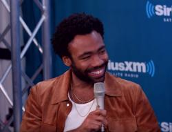 Donald Glover talks on SiriusXM's EW Radio show.