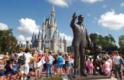 Walt Disney World's Magic Kingdom in Lake Buena Vista, Fla.