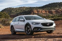 This undated photo provided by General Motors shows the 2018 Buick Regal TourX, a station wagon-based SUV alternative that combines tons of cargo space with a sleek look and a near-luxury feel.