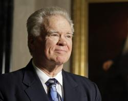 In this Oct. 12, 2010, file photo, Southwestern Baptist Theological Seminary President Paige Patterson poses for a photo in Fort Worth, Texas.