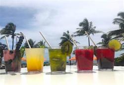 Spirit Spritzes in a rainbow of flavors.
