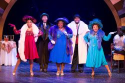 "The cast of ""Ain't Misbehavin'"" at Theatre By The Sea thru June 17, 2018. Photos by Steven Richard Photography."