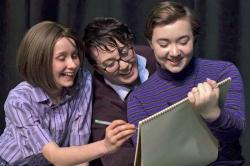 """Cast members from the Rhinebeck Theatre Society'a production of """"Fun Home."""""""