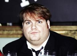 "In this Sept. 18, 1990, file photo, comedian Chris Farley, a new cast member of NBC's ""Saturday Night Live"" appears in New York."