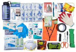 VLES shows contents of the company's GO-bag.
