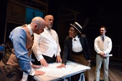 "A scene from ""Burnham's Dream: The White City"" through July 1 at Theater Wit."