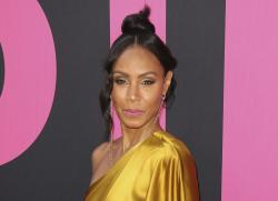 "In this July 13, 2017 file photo, Jada Pinkett Smith arrives at the world premiere of ""Girls Trip"" in Los Angeles"