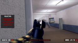 """This screen shot taken from YouTube shows a still frame from the video game """"Active Shooter."""""""