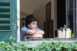 "Timothee Chalamet in a scene from ""Call Me By Your Name."""