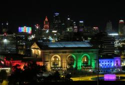 Kansas City lights up for Pride.