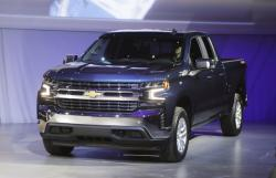 In this Jan. 13, 2018, file photo the 2019 Chevrolet Silverado High Country pickup is unveiled in Detroit