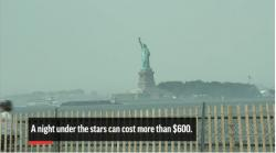 Glamping In NYC Comes With Views of Lady Liberty