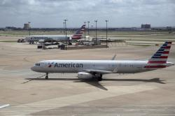 American Airlines aircrafts are seen at Dallas-Fort Worth International Airport in Grapevine, Texas.