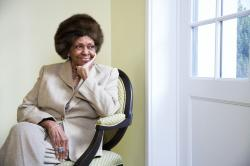 American gospel singer and author Cissy Houston
