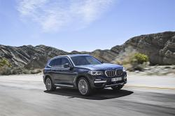 This undated photo provided by BMW shows the 2018 BMW X3, a luxury compact SUV with more traditional design and a starting price of $41,995, including the destination fee
